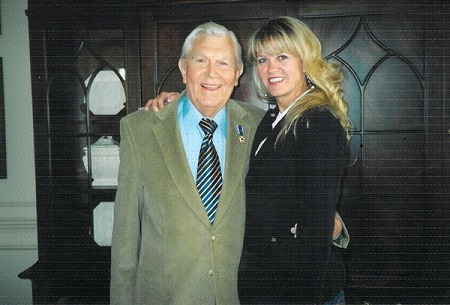 Dixie and her father Andy Griffith,