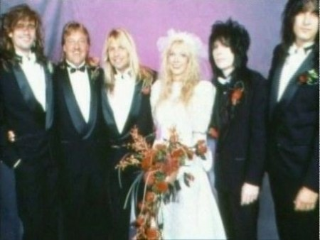 Mick Mars & Emi Canyn wedding ceremony