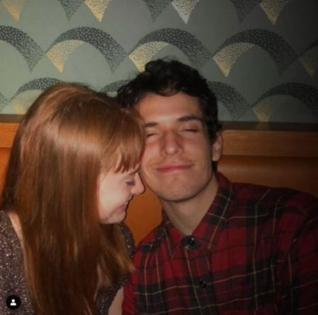 Zoe De Grand Maison with her boyfriend, Matt Jonn Lewis.