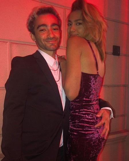 Phoenix Chi Gulzar and her boyfriend