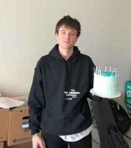 Image: Alec Benjamin in his birthday