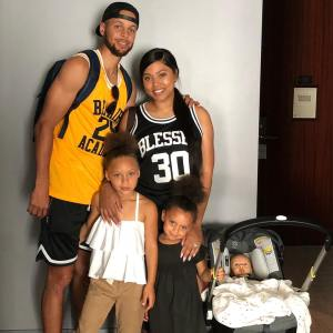 Riley Curry's Family.