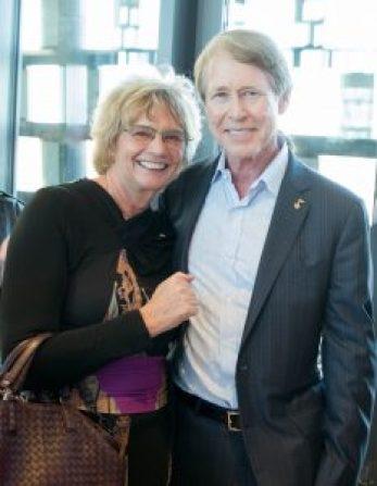 Linda with her husband, Stephen