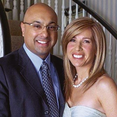 Lori with her husband Ali