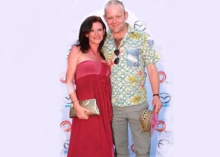 Huw Higginson and his partner Hannah Waterman