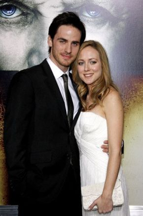 Colin with his wife Helen