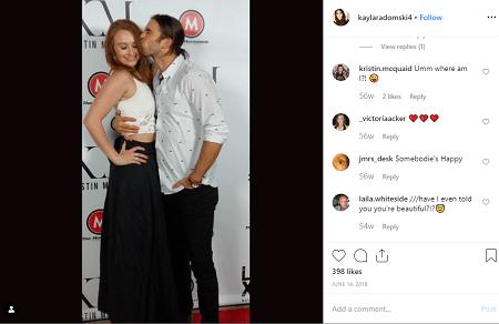 Kayla Radomski and her boyfriend