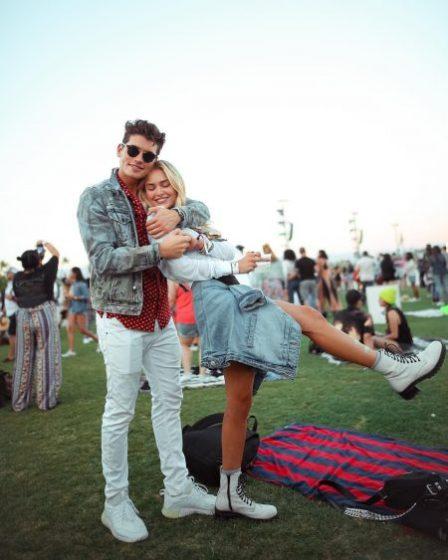 Michelle Randolph and her boyfriend Gregg Sulkin