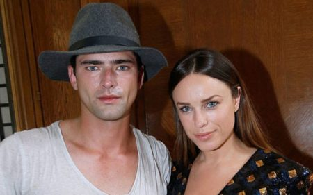 Sean O'Pry and his ex-girlfriend