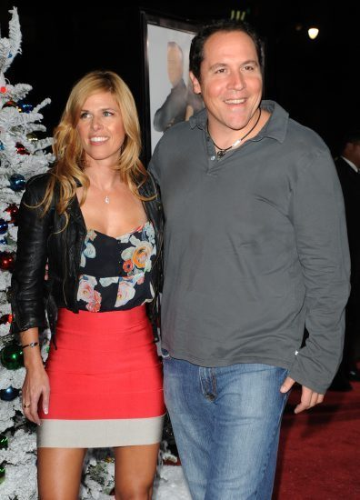 Joya Tillem with her husband Jon Favreau