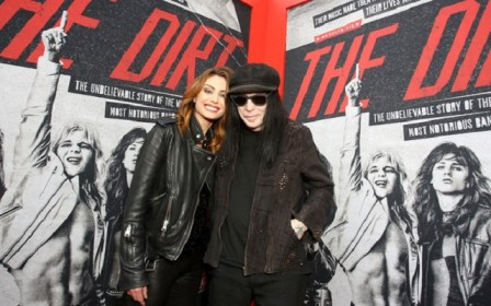 Seraina Schönenberger and her partner Mick Mars
