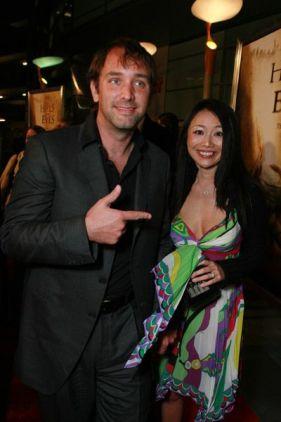 Sugiyama with her ex-husband, Trey