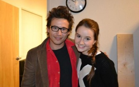 Jonathan Taylor Thomas and his future wife, Natalie Wright.