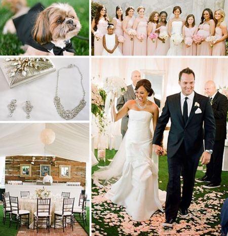 Darlene Mowry's twin daughter, Tamera Mowry & Adam Housley's wedding.