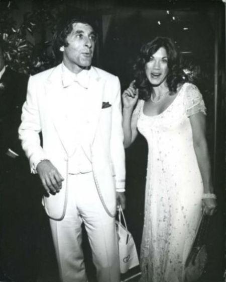 George Gradow and Barbi Menton's wedding.