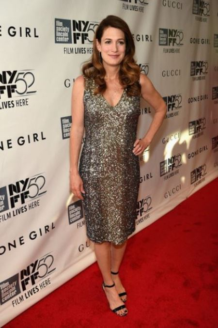 """Gillian Flynn attended the Opening Night Gala Presentation and World Premiere of """"Gone Girl"""" during the 52nd New York Film Festival at Alice Tully Hall on 26th September 2014, in New York City."""