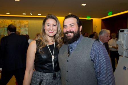 Matt Patricia and his wife, Raina Patricia.