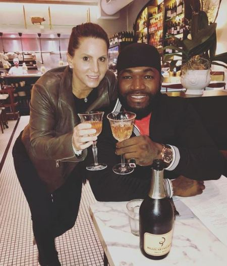 David Ortiz celebrating mother's day with his lovely mother, Angeles, Rose Arias.