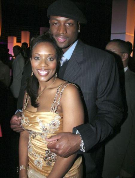 Zaire Blessing Dwayne Wade's parents.