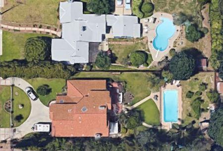 Violet Madison Nash's house in Woodland Hills, Californa.