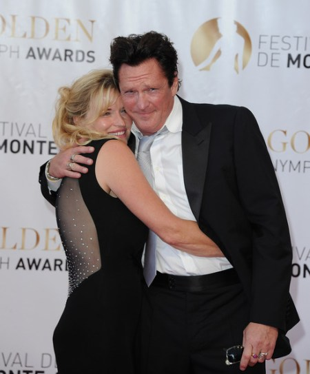 Michael Madsen with her husband DeAnna Madsen