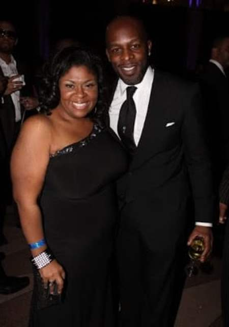 Kim Burrell with spouse Joseph Wiley
