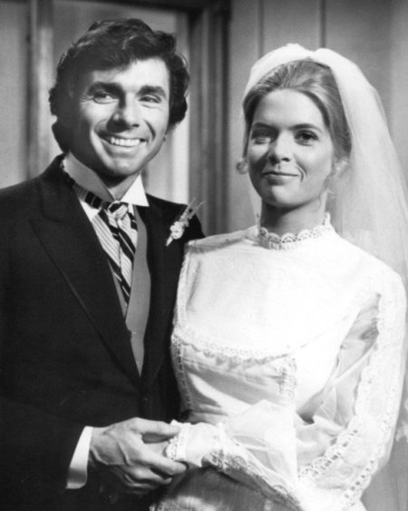 David with his ex-wife Meredith Baxter