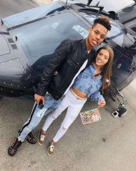 Victoria and her ex-boyfriend, Papi JJ