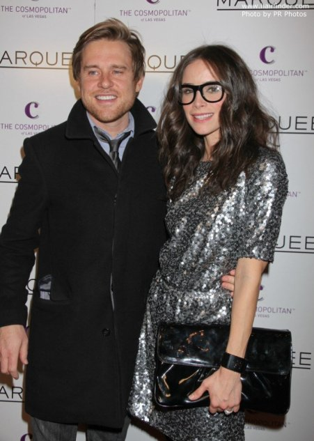 Andrew with his ex-wife, Abigail Spencer