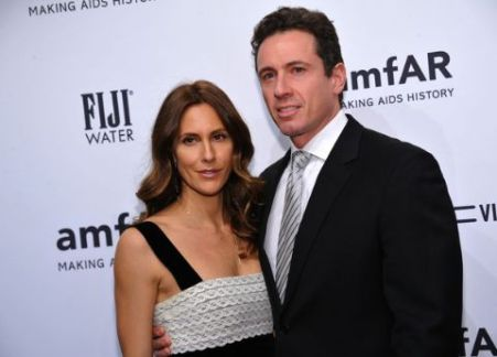Cristina Greeven with her husband