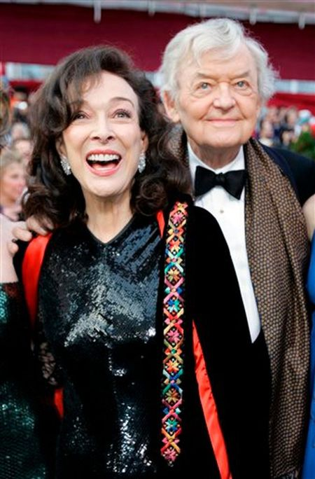 Dixie with her husband, Hal Holbrook