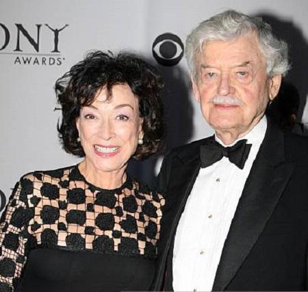 Dixie Carter and her husband Hal Holbrook