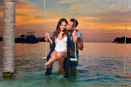 The 29 years old Sasha Clements went honeymoon