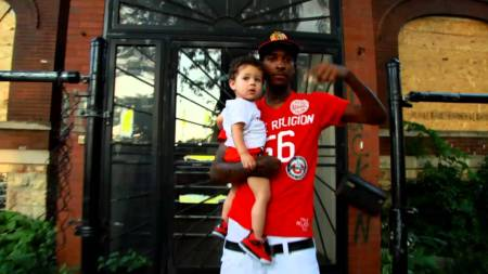 Lil with his daughter, Aubri