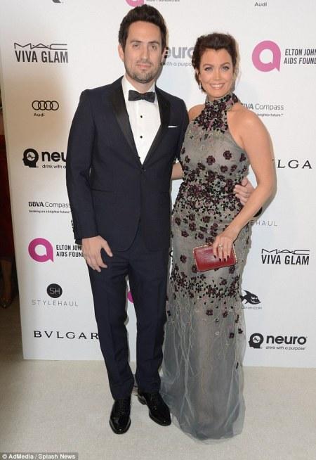 Bellamy with her ex-boyfriend, Edward Weeks