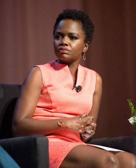 American commentator Karine Jean-Pierre