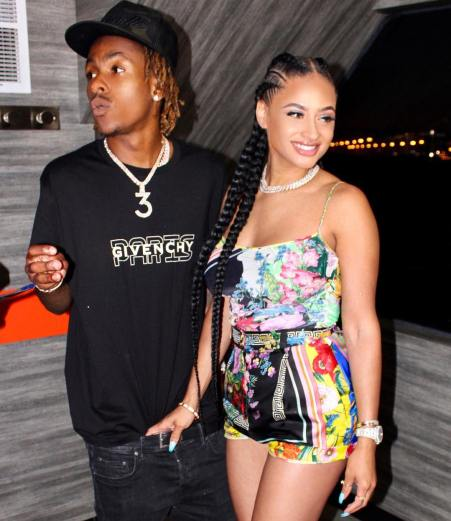 Tori shares a picture with her partner, Rich the Kid