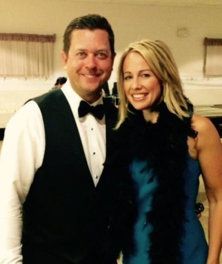 Natasha Staniszewski with her husband, Bryan Mudryk.
