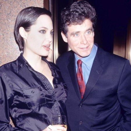 Jay McInerney with his first wife, Linda Rossiter.
