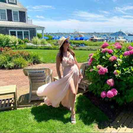 Kate Stoltz is enjoying her spare time vacationing in Nantucket, Massachusetts