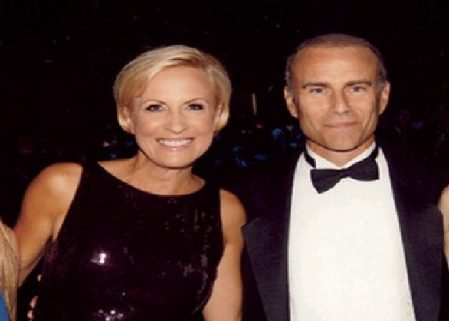Jim and his ex-wife, Mika Brzezinski