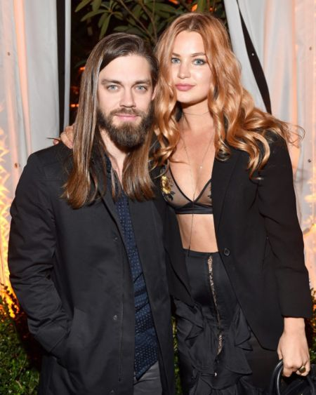 The 36 years old actor Tom Payne along with his girlfriend
