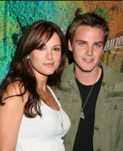 Danneel Ackles with her ex-boyfriend