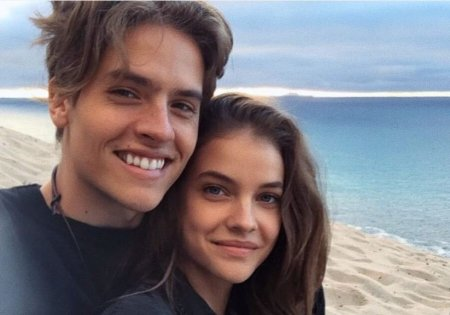 Barbara Palvin along with her love partner, Dylan Sprouse