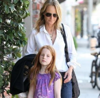Makena Lei Gordon Carnahan with her mother, Helen Hunt