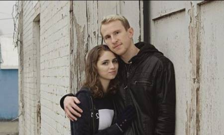 Matthew Parker with his girl friend Savvy