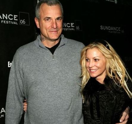Nick Cassavetes with his ex-wife, Heather Wahlquist