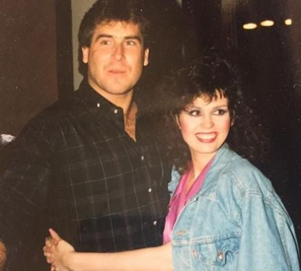 The photo of Marie Osmond and Brian Blosil