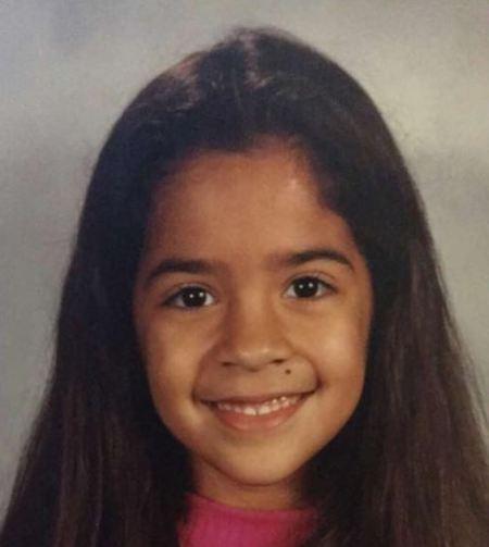 """Childhood image of Nikki Glamour"