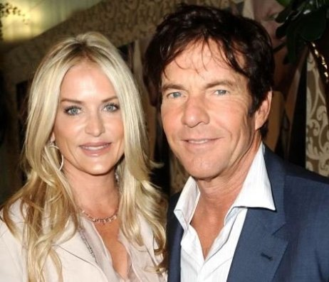 Dennis Quaid with his former wife, Kimberly Buffington
